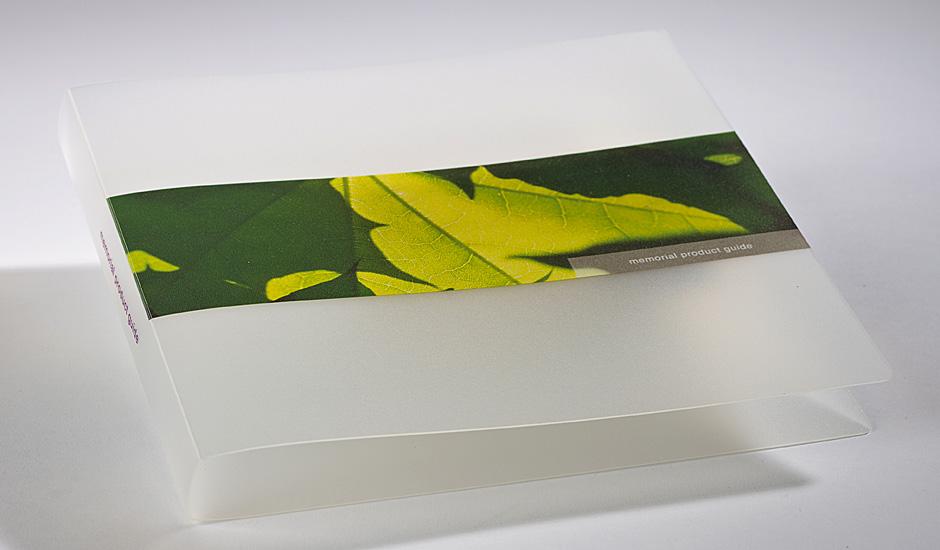UV litho on plastics plastic folder